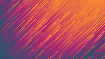 Dynamic Flow Bright Vivid Colorful Gradient Lines Abstract Background In Ultra High Definition Quality. Digital Glitch Conceptual Art Illustration 版權商用圖片