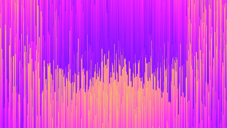 Digital Glitch Effect Abstract Background In Ultra High Definition Quality. Dynamic Vivid Color Striped Conceptual Art Illustration