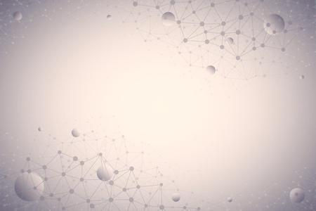 3D abstracte technische achtergrond in Ultra High Definition-kwaliteit. Technologisch veelhoekig behang met verbindingsstructuur. Futuristisch neuraal netwerk Stockfoto