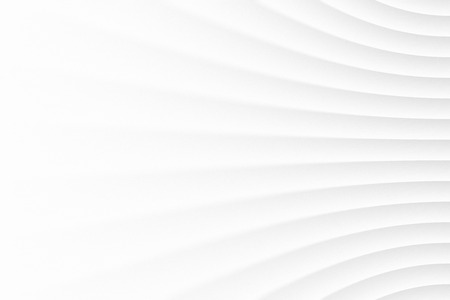 White Clear Blank Subtle Geometrical Abstract Background In Ultra High Definition Quality. Light Colorless Empty Surface. 3D Conceptual Sci-Fi Technology Illustration. Minimalist Wallpaper Stock Photo