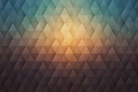 Abstract 3D Geometrical Triangular Textured Vintage Colors Background In Ultra High Definition Quality. Vivid Vibrant Wallpaper Stock fotó