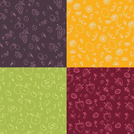 jointless: Fruit seamless texture
