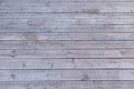 gray old horizontal boards Weathered wood rustic background with nails