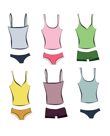 nightwear: Set of sleepwears for girls