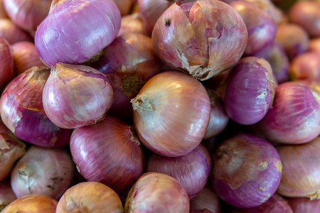 pile of red onion for background.