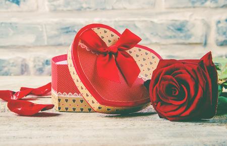 Background love and romantic. Selective focus. valentine