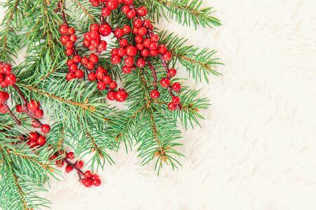 Christmas decorations, New Year decor. Selective focus nature Archivio Fotografico - 131401708