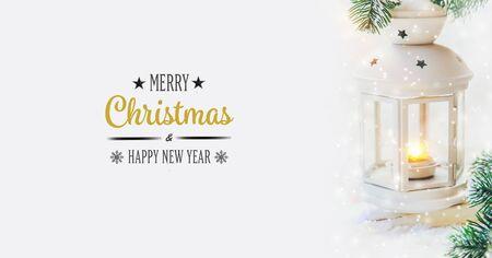Fondo de Navidad. feliz Año Nuevo. Enfoque selectivo vacaciones Foto de archivo