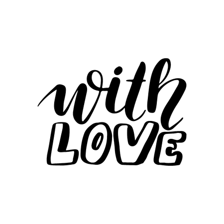 Joy to the world - Vector hand drawn lettering phrases. Merry Christmas and Happy New Year 2019. Modern brush calligraphy. Holidays quotes for photo overlays, greeting cards, posters. 일러스트