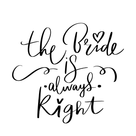 Vector hand drawn lettering phrase for Bachelorette party, hen party or bridal shower.