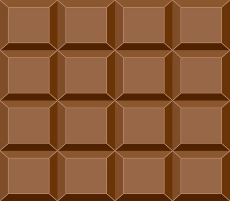 Seamless Chocolate Bar Pattern, Vector Illustration for Your Projects Vector