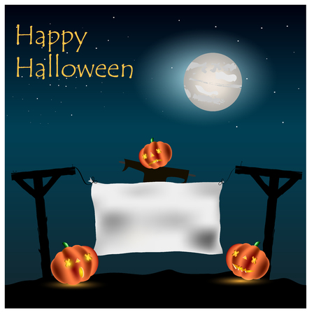 halloween background: Background for Halloween Illustration