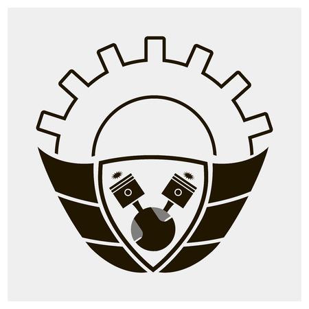 Auto wing,Automotive logo,Crests logo,Vector logo template