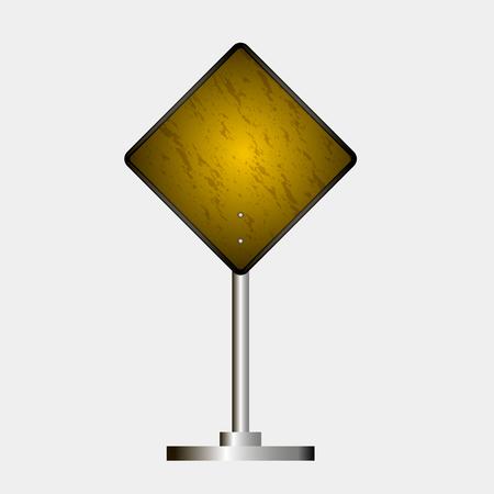 Road sign Çizim