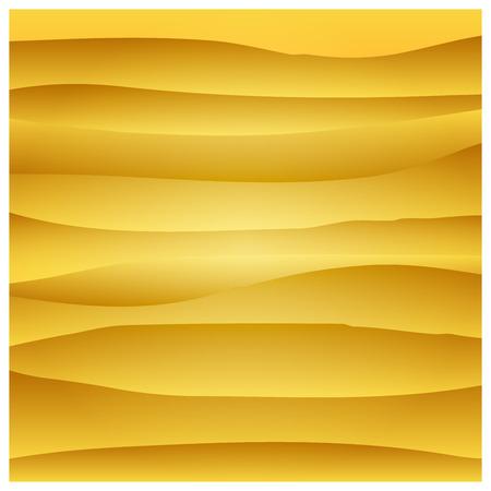 Paper orange circle banner with drop shadows. Vector illustration