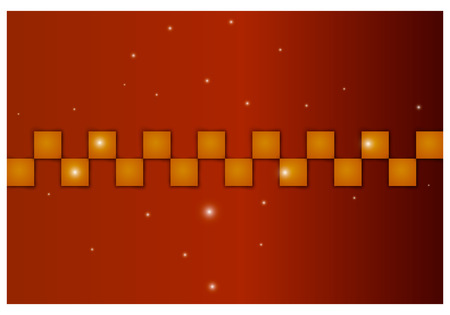abstract background with squares Illustration