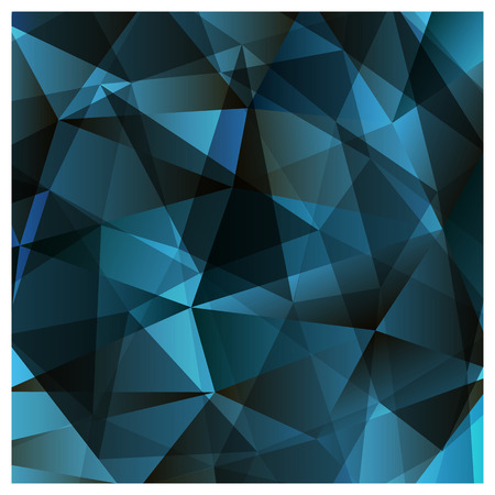 multicolor dark blue geometric rumpled triangular low poly style gradient illustration graphic background. Vector polygonal design for your business.