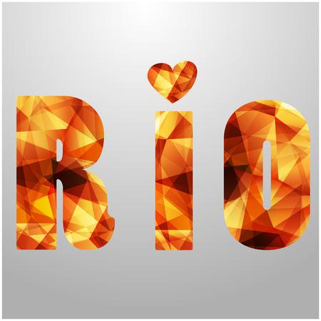 Rio - banners . Rio background, Rio icon, Rio games, Welcome to Rio pattern - stock vector