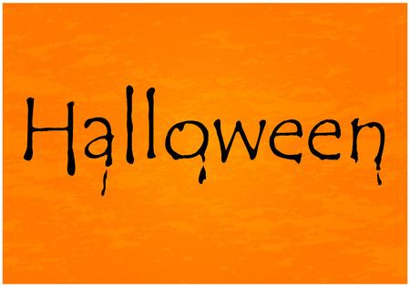 copyspace: Halloween vector background with copyspace
