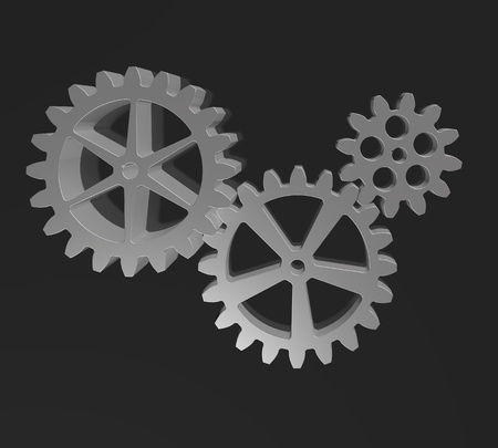 Cogs And Gears Icon