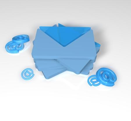 Glass envelopes and the postal dog