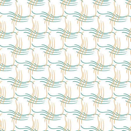 Abstract seamless pattern lines