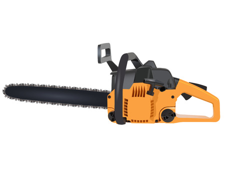 Chainsaw Stock Vector - 8330727