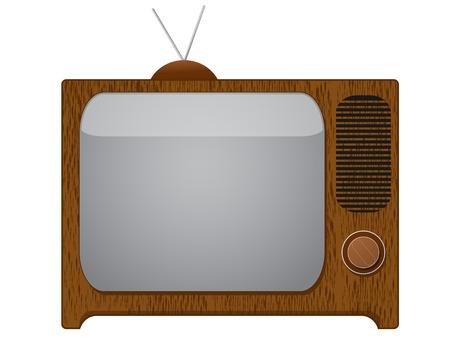 retro tv Stock Vector - 8330729