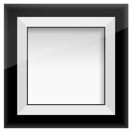 album cover: picture frame, isolated