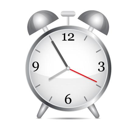 Metal alarm clock.Vector Stock Vector - 8936768