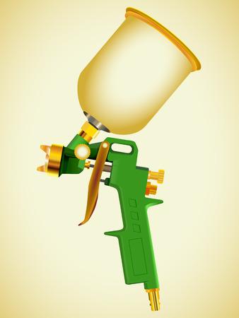 sprayer: Spray gun