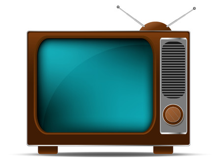 TV retr�  Vettoriali