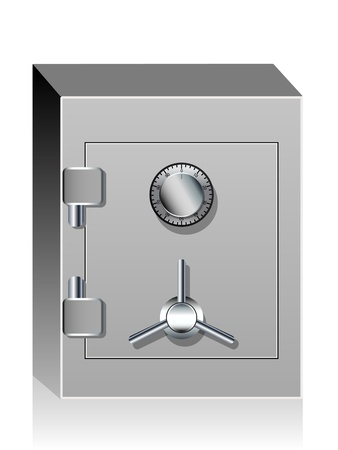 Bank safe Stock Vector - 10441146