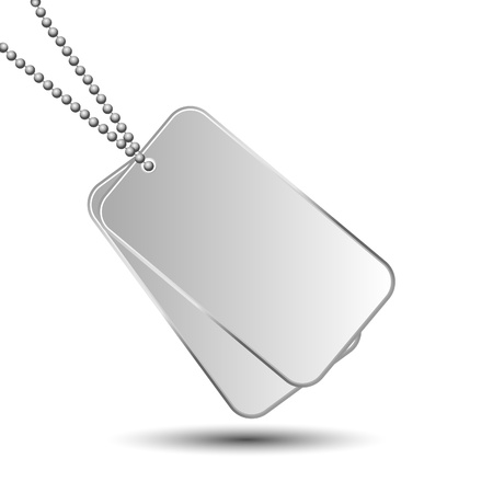 dog tag: dog tags