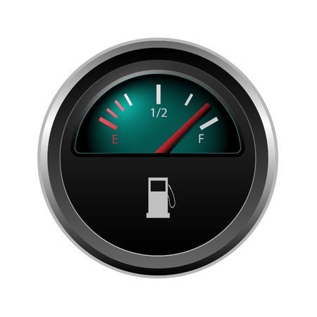 miernik: poziom paliwa