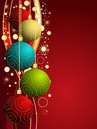 Vector Christmas background Stock Vector - 10762490