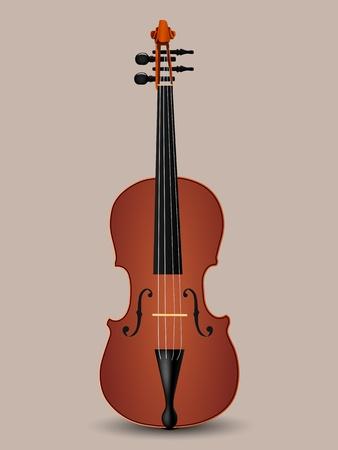 vector violin illustration Vector