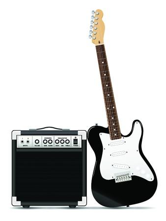 Guitar Amp Vettoriali