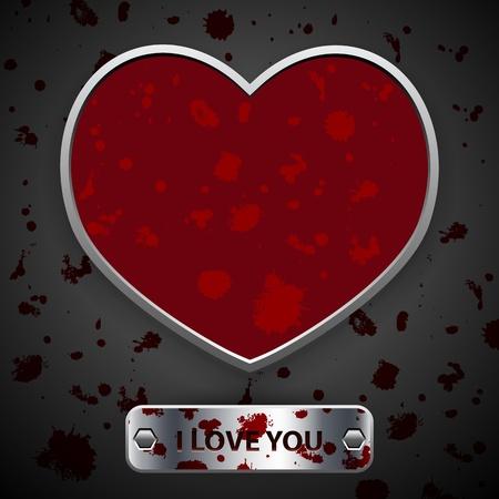 bloody valentine Vector