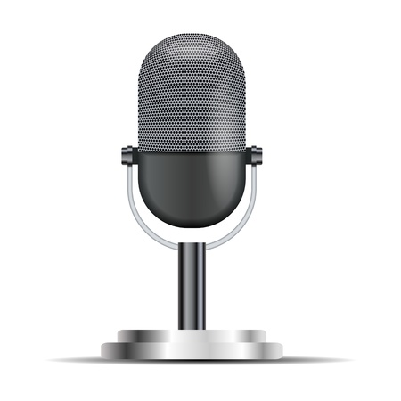 mike: Retro microphone