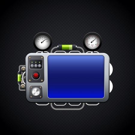 panel de control: panel de control Vectores