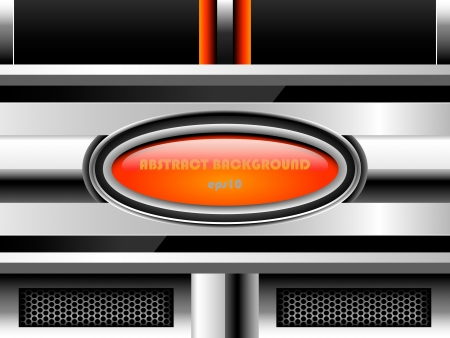 Abstract metal background, eps10 Vector