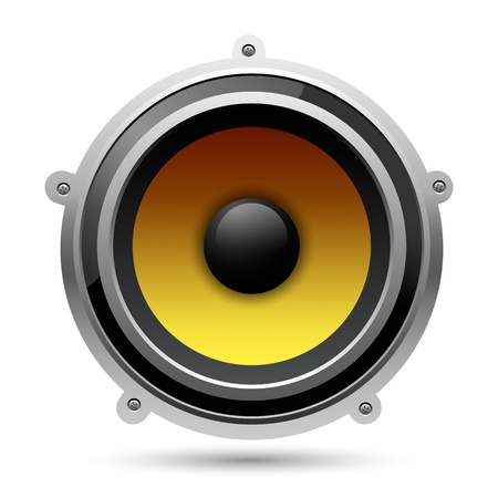 Audio speaker Stock Vector - 15389234