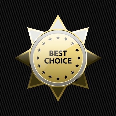 Best choice label Stock Vector - 15996158