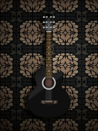 Acoustic classic guitar Stock Photo - 16911187