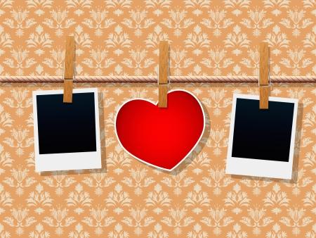 obscure: Marcos de fotos y el coraz�n en la cuerda