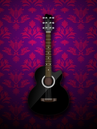 Acoustic classic guitar Stock Photo - 16976686