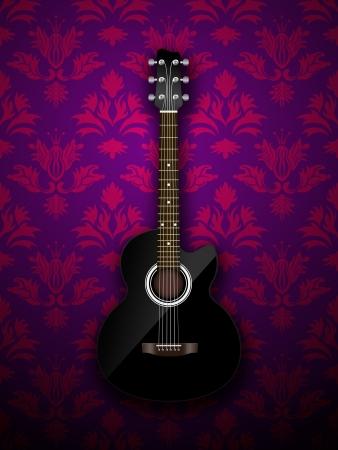Acoustic classic guitar Stock Photo - 16976686