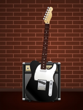 equalization: Guitar with Amp