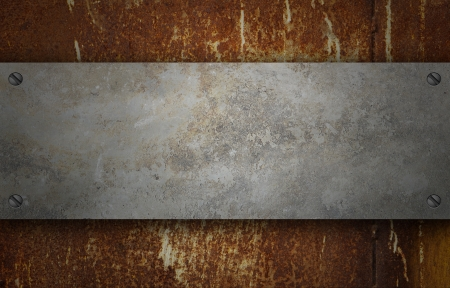 Old rusted metal. grunge texture background photo